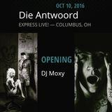 LIVE DJ SET OPENER FOR DIE ANTWOORD @ EXPRESSLIVE 10/10/2016, COLS, OH