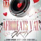 17TH FEB AFROBEATS VALENTINE PARTY TEASER MIX BY DJ DIZA