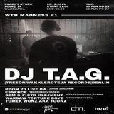 Dj T.A.G. @ WTB Madness #1 - Czarny Rynek Warschau - 20.12.2014