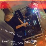 Live DJ-Mix, 15 September 2018 - Omroep Zuidplas Radio