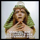 Manuel Kim DJ Charts September 2012