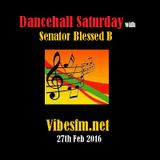 Dancehall Saturday 27th Feb 2016