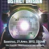 EinsAusZwei @ Kosmonautentanz - Sa 21.4.12 - District, Dresden