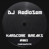 RadioSam Presents HARDCORE BREAKS #003 LIVE on Code South 105.6 FM 28/11/2018