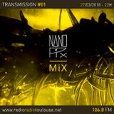 Nanopix / Transmission radioradiotoulouse 106.8 FM