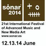 Aidan Lavelle @ Crossing Wires Sonar Festival 2014 - ZT Hotel Barcelona (11.06.2014)