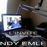The Guest - L'INVITE Bayou Blue Radio - ANDY EMLER