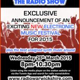 RW019 - THE JOHNNY NORMAL RADIO SHOW - 25TH MARCH 2015 - ELECTROLONDON SPECIAL