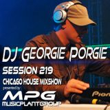 dj Georgie Porgie MPG Radio Show 219