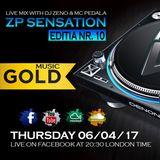 ZP Sensation Editia Nr. 10 ( Gold Music Edition Radio OK )