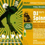 DJ Spinna BRAZA! Mix @ SOM. - 11.05.10