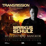 Markus Schulz - Transmission Thailand - 10.03.2017 (Free)  → www.facebook.com/lovetrancemusicforever