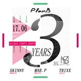 3 Years PlanB Live Set from Mastic Soul - Mi.Ki & Uffizi