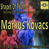 Markus Kovacs @ Shapes of Techno 2019-12-01