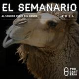 Semanario No. 36 - Al Sonoro Rugir del Cañón: Cámara Senadores, Carmen Salinas, Cuauhtémoc Blanco.