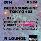 DJ SHINKAWA 2014.5.24 DEEP & SUNSHINE TOKYO #2 @ R LOUNGE