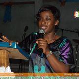 Exhortation avec la Soeur Mimyelle Kassi du MICI-France