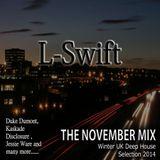 L-Swift, Deep House, The November Mix 2014