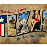 Show #45 OutWest Hour October 12, 2019 - Greetings From Texas -