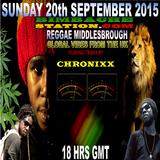 REGGAE M - BLAZING TRAXX BY CHRONIXX 20-9-2015