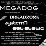 Michael Dog at Megadog 30th anniversary show 21/11/15 opening DJ set