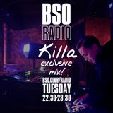 KILLA @killaxy exclusive mix for #BS0radio 19/12/2017