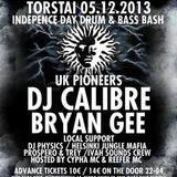 DJ Trey Live @ Escape Helsinki Calibre & Bryan Gee