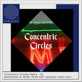Concentric Circles Radio - 9th September 2019