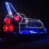 Disco Space Shuttle opening set Burning Man 2018