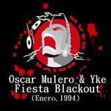 Oscar Mulero & Yke - Live @ Over Drive,Paseo de Extremadura,Madrid,Fiesta Blackout (Enero.1994)
