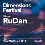 Dimensions Vinyl Mix Project 2016: RuDan