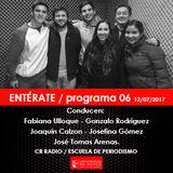 ENTÉRATE / programa 06