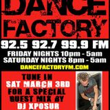 DANCE FACTORY FM RADIO  MIX 3/3/2007