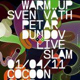 Petar Dundov Live @ Time Warp Warm..up at Cocoon Club Frankfurt 01.04.2011