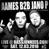 AAMES B2B JANO P Live @ bassjunkees.com 12032016