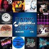 DEEPINSIDE RADIO SHOW 115 (Kings Of Tomorrow Artist of the week)