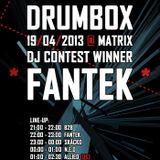 Fantek - Dark Lesson 2013 - Drumbassterds.cz_Drumbox Contest Winning Set!