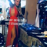 Dj Venus Friday  fast Nu Disco studio mix