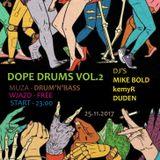 Dope Drums vol.2 Promo Set