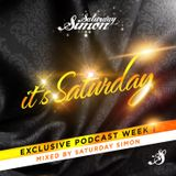 SATURDAY SIMON / podcast: IT'S SATURDAY (y2013w02) / TO.NIGHT!