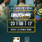 DJ Kitsune x DJ Romie Rome - Hip Hop in Zoom,  23 Jun 2017