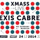 E! Nights presents Alexis Cabrera live / 24.12.2014. @ Kameleon club