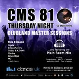 CMS81t - Clubland Master Sessions (Thur) - DJ Dan Jones - Dance Radio UK (15 JUN 2017)