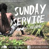 "Dussova Aka 220 Sound Presents Sunday Service"" 100%reggae Mixcd #9"