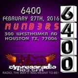 Club 6400 at Numbers February 27th 2016.