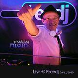 Live @ Freedj (29/11/15)