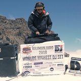 The World's Highest DJ Set - #ClimbKili