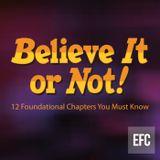 Believe It or Not: Risen