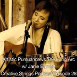 Artistic Pursuance vs The Long Arc w/ Janie Barnett: Creative Strings Podcast EP 28