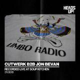 Cutwerk b2b Jon Bevan Live at Soup Kitchen 31/08/18